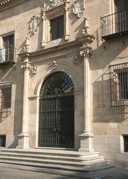 FOTO NOTICIA CAJA ESPAÑA-DUERO (antigua sede Duero en Salamanca)
