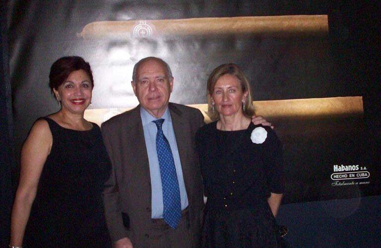 Elsa Lavastida, Agustín Goitre y Lucía Fernández