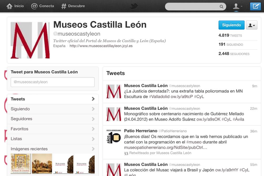 TwitterMuseosCyL