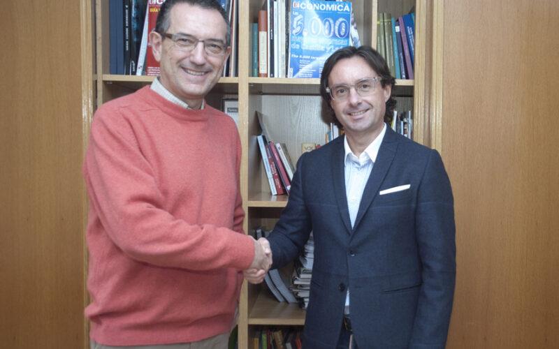 José Antonio Sanz Gómez y Alberto Cagigas.