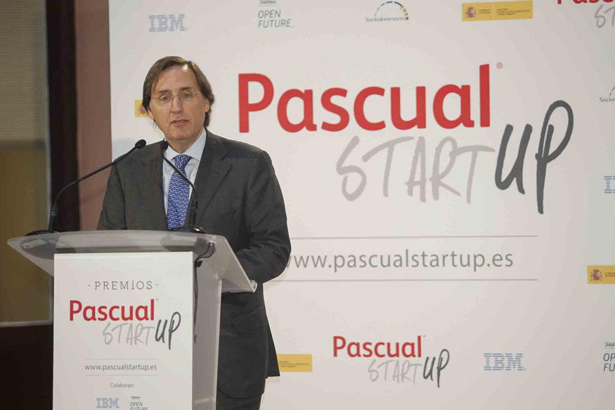 Tomás Pascual, presidente de Calidad pascual, en la presentación del certamen.