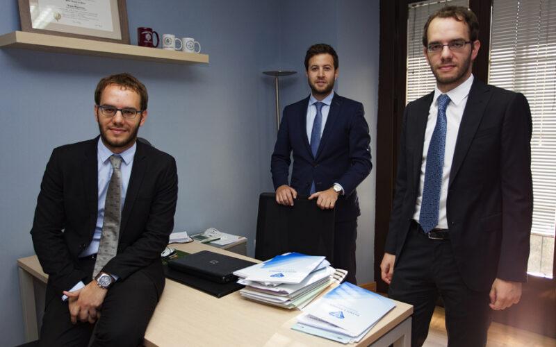 Socios del despacho Vicente y Matanza.