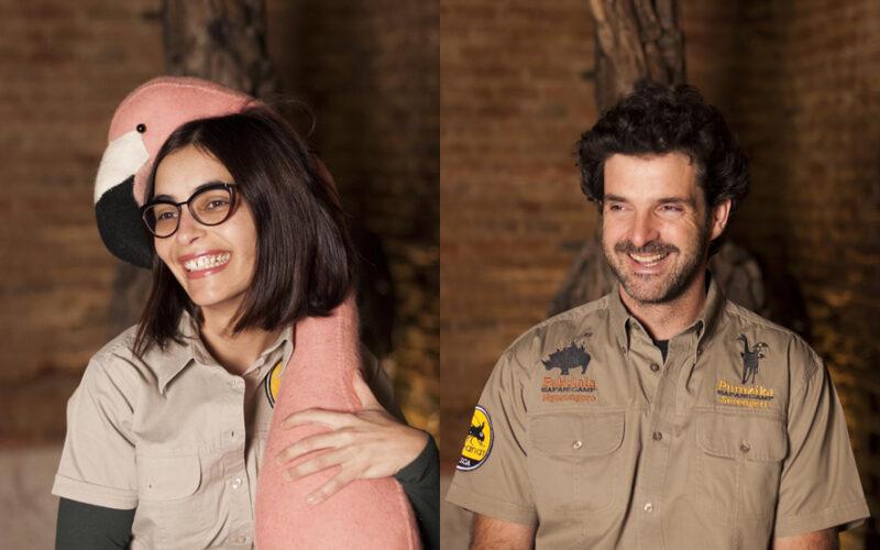 De izquierda a derecha, Estrella Ortego y Ricardo Fernandes-Retto, directores ge