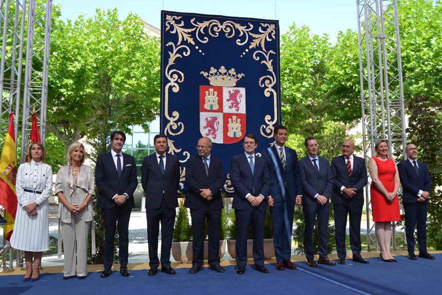 Alfonso Fernández Mañueco y Francisco Igea, presidente y vicepresidente de las J