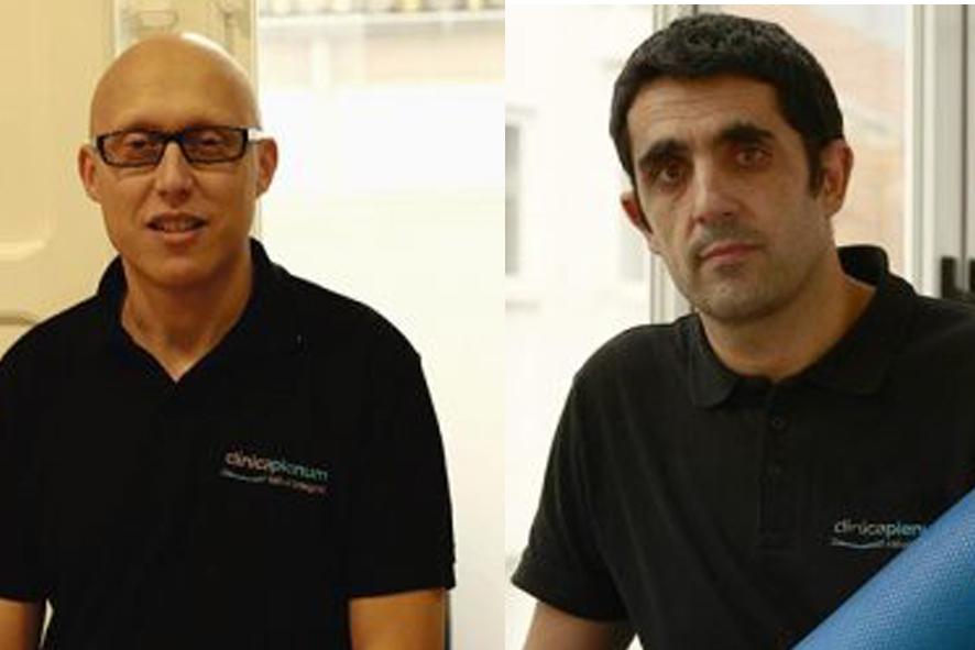 De izquierda a derecha, Ignacio Coque y Javier Hernández Bello, fundadores de Cl