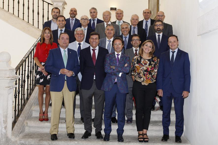 Asistentes al encuentro Diálogos Castilla y León Económica celebrado en Abadía R