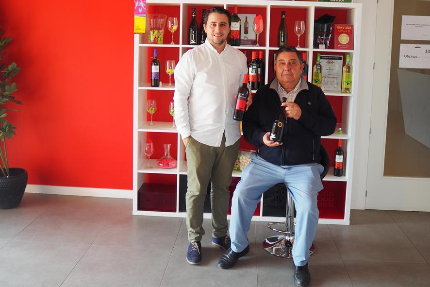 De izquierda a derecha, Rubén Asensio Valentín y Aníbal Asensio Paunero, subdire