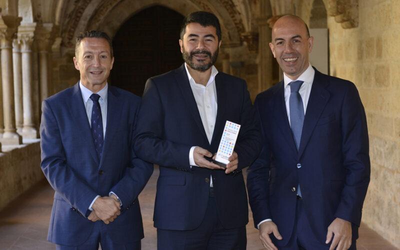 Entrega del premio Hotels & Tourismo de Caixabank a Castilla Termal.