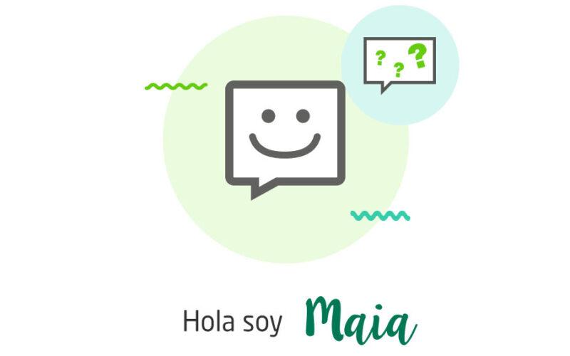 Maia, la nueva asistente virtual de Caja Rural de Salamanca.