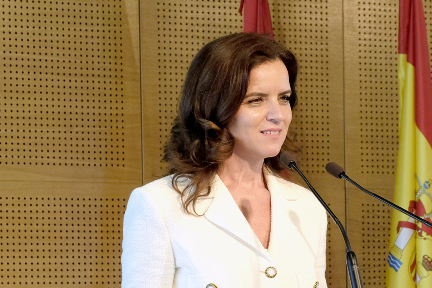Carlota Amigo, consejera de Empleo e Industria.
