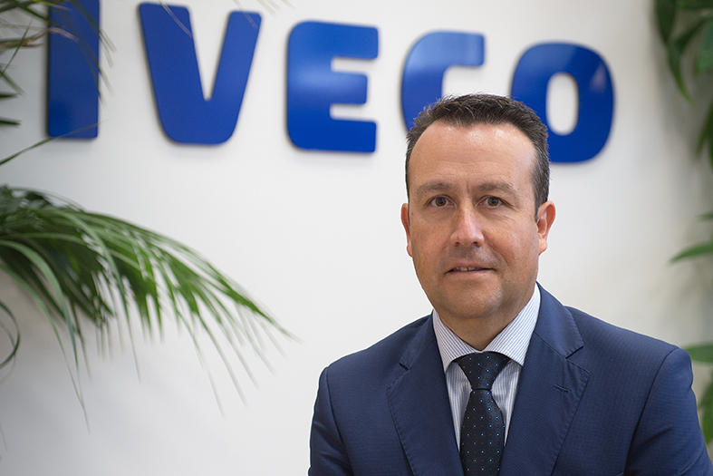 Ángel Rodríguez Lagunilla, presidente de Iveco España.