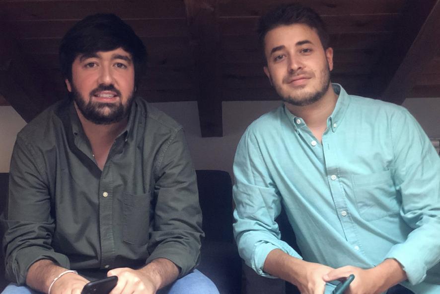 Alberto Hortigüela y Luis Enrique Martínez, socios directores de Joinhome.