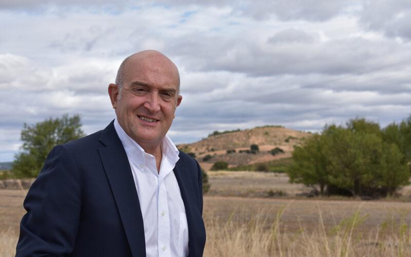Jesús Julio Carnero, consejero de Agricultura, Ganadería y Desarrollo Rural.