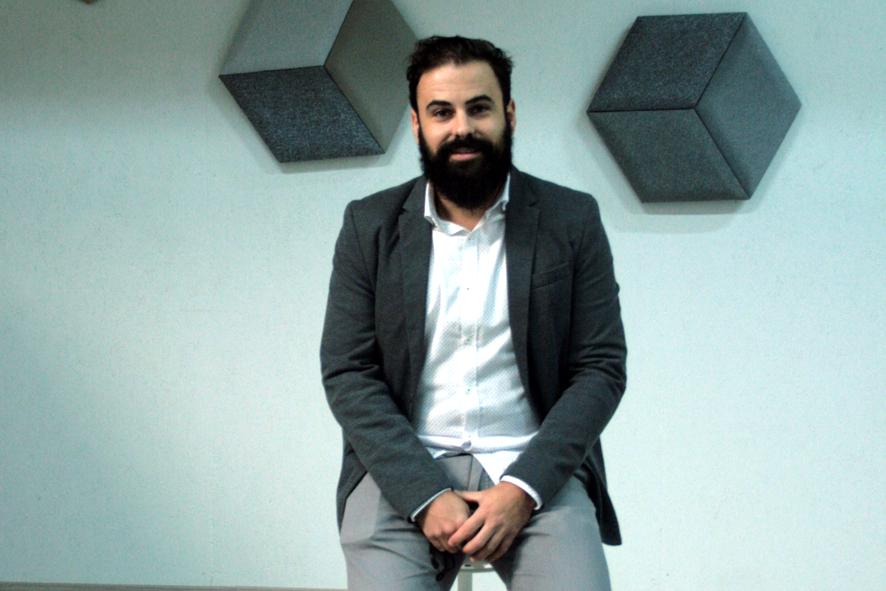 David Gay, responsable de Innovación y Comunicación de Absotec.