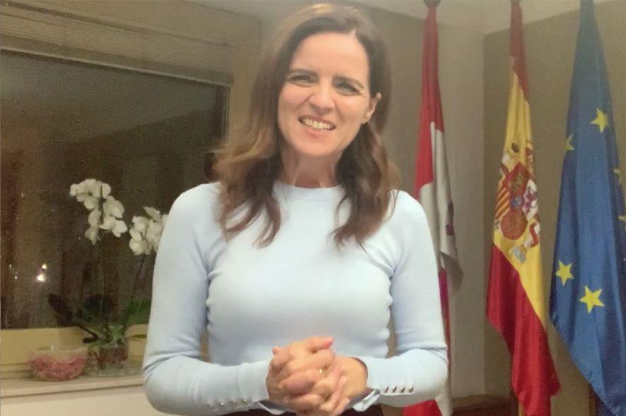 Carlota Amigo, consejera de Empleo e Industria de la Junta de Castilla y León.