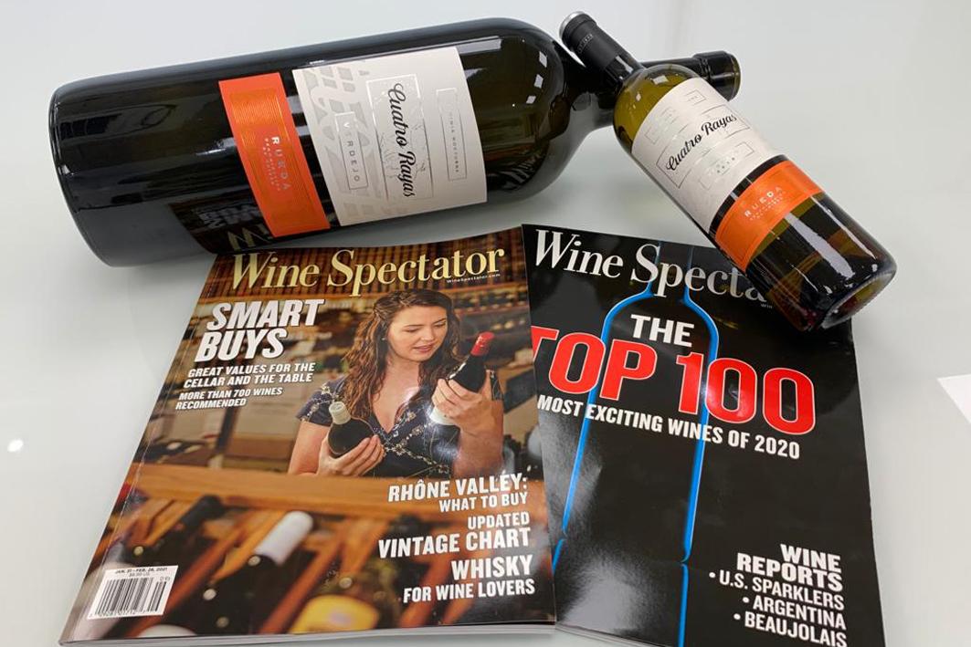 'Cuatro Rayas Verdejo' es habitual del palmarés de certámenes vinícolas.