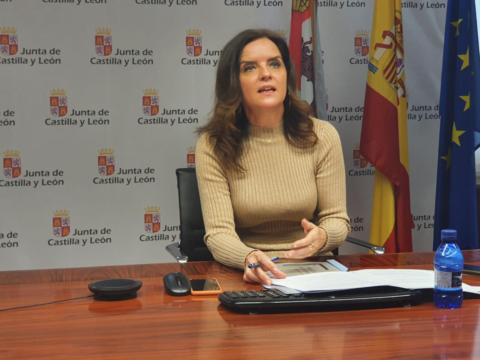Ana Carlota Amigo, consejera de Empleo e Industria.