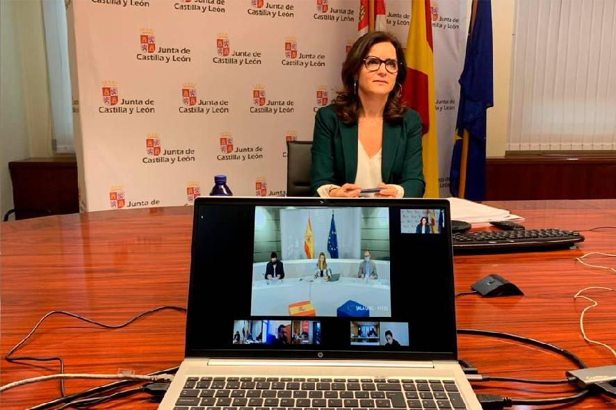 Ana Carlota Amigo, consejera de Empleo e Industria de la Junta.