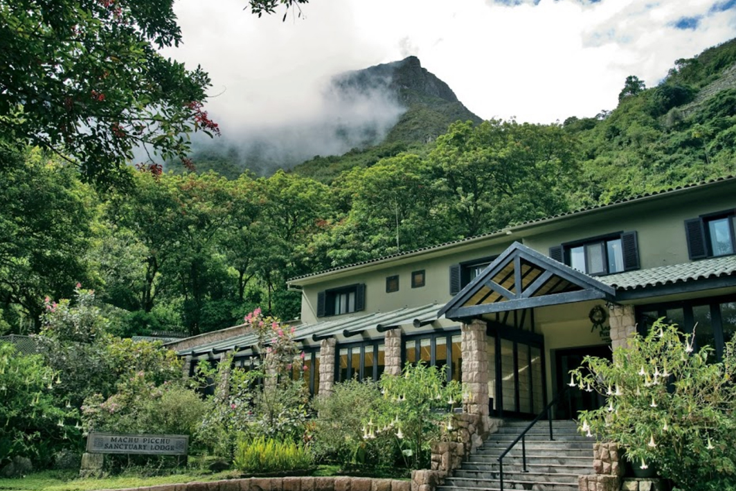 Hotel Beldmon Sanctuary Lodge a la entrada del Machu Picchu (Perú).