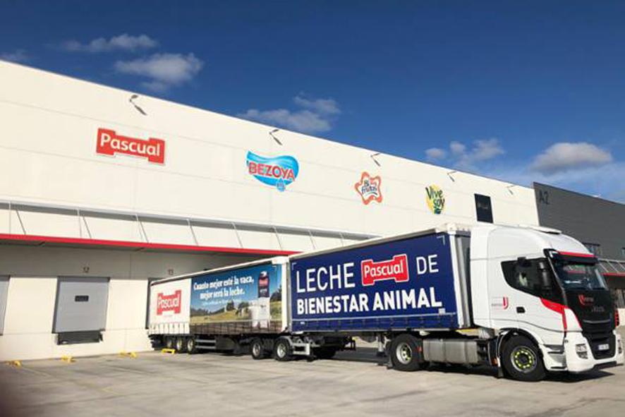 Pascual registró una cifra de 132,10 kilos de CO2e por tonelada de producto.