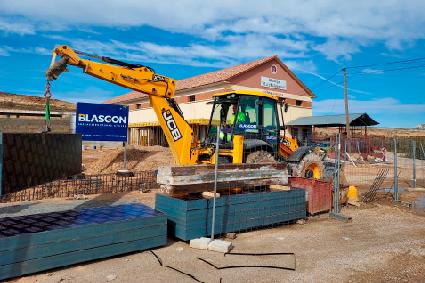 Blasgon internacionalización construcción obra industrial investigación Perú