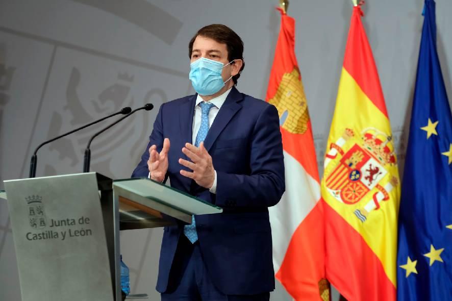 Alfonso Fernández Mañueco, presidente de la Junta, Cárnicas Tabladillo, ayudas.