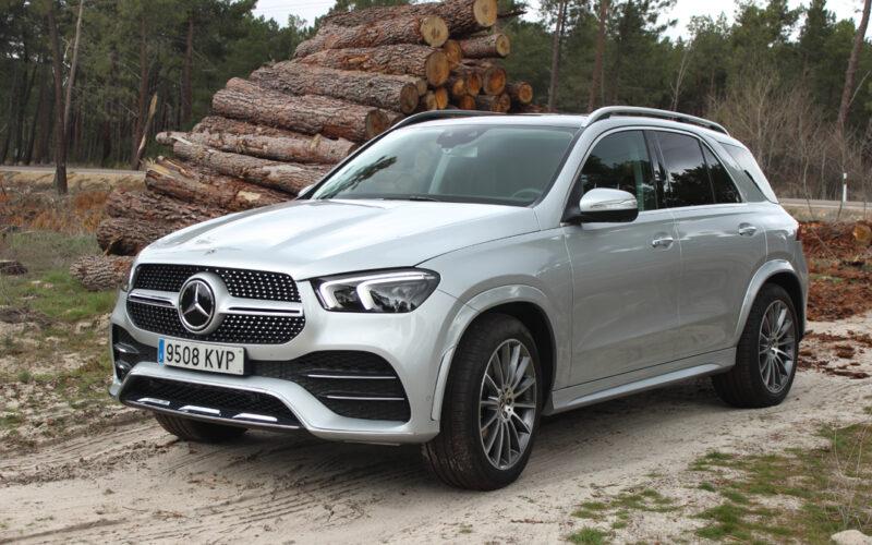 Mercedes GLE, motor, coche, vehículo, prueba, diésel, Santiago de Garnica.