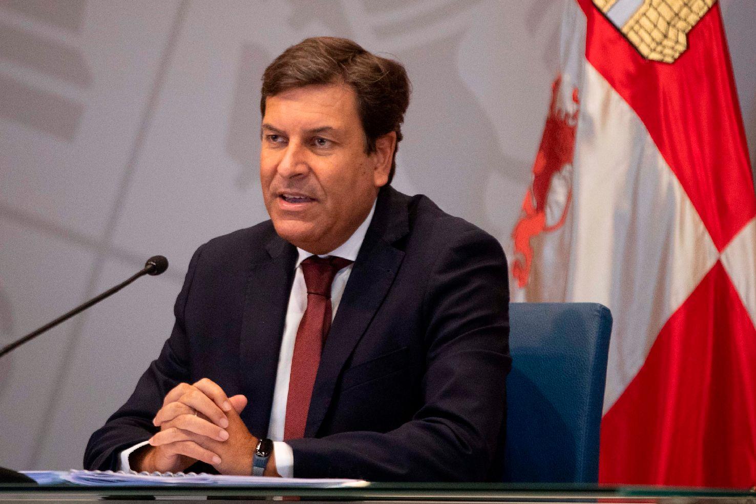 Carlos Fernández Carriedo, consejero de Economía y Hacienda de la Junta.