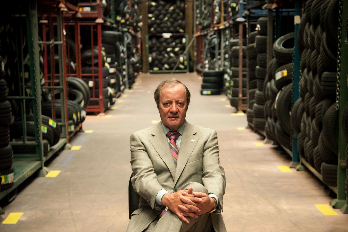 Eustaquio Andrés Sánchez, Grupo Andrés, neumáticos, distribución, empresario.