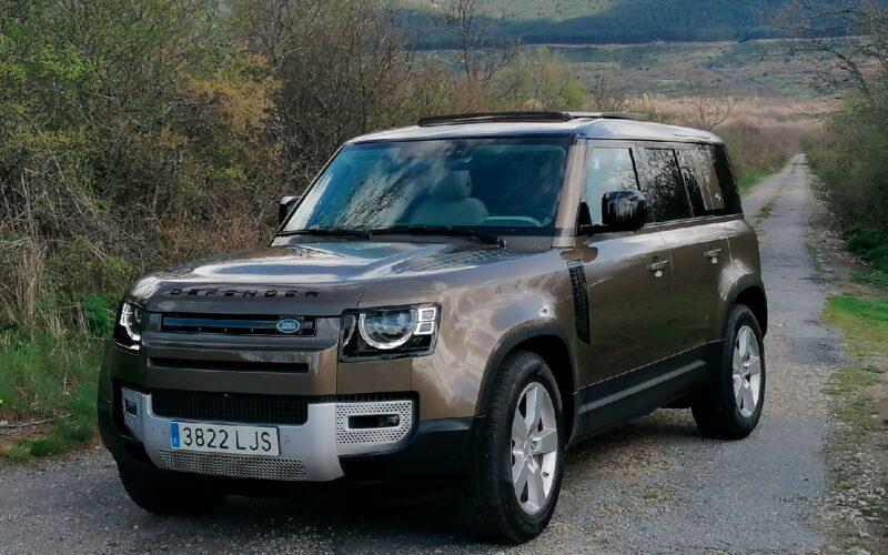 Santiago de Garnica, Land Rover Defender, prueba, motor, SUV, todoterreno.