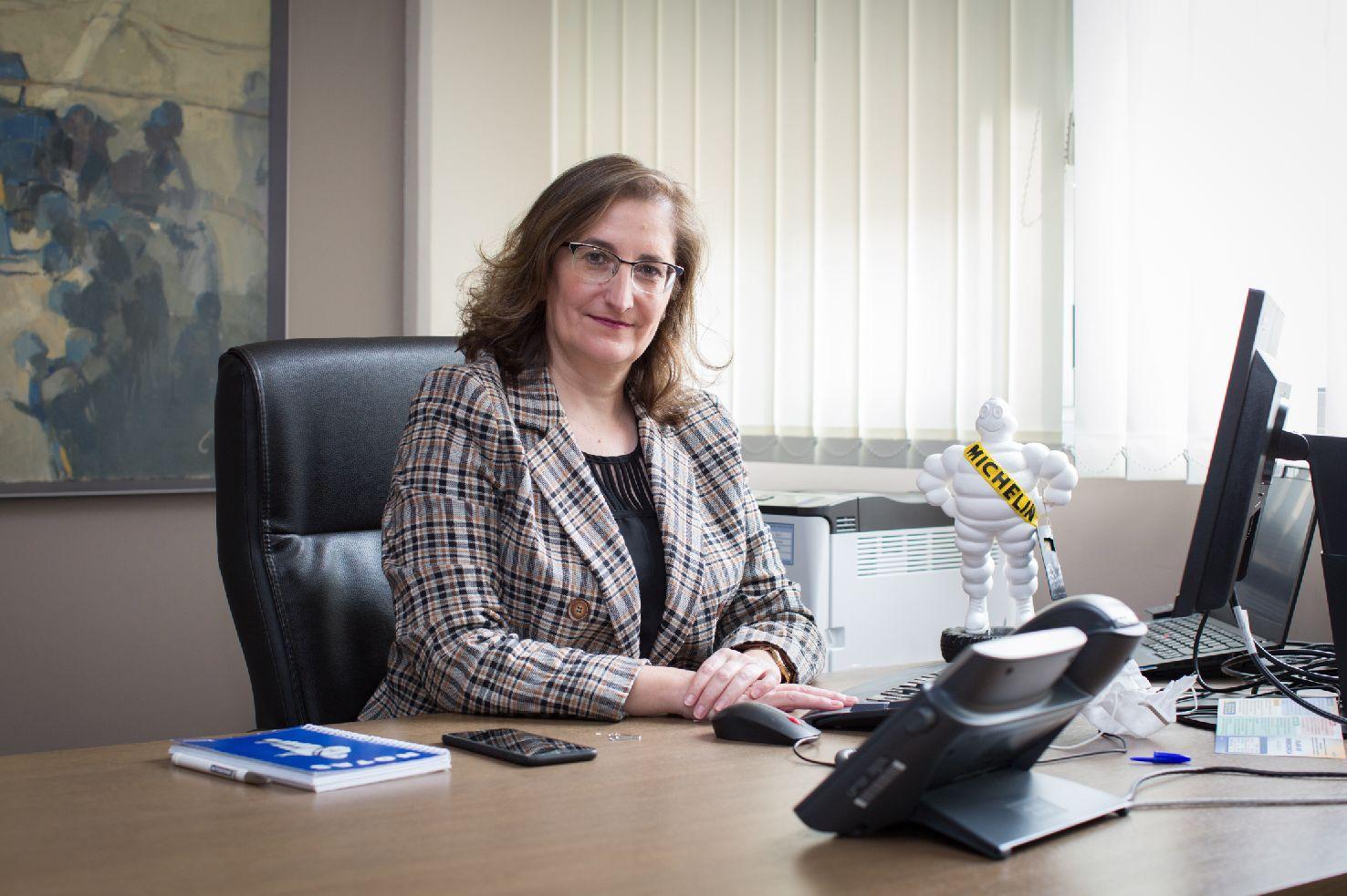 María Paz Robina, Michelin, ejecutiva, directiva, neumáticos, empresa, empleo.