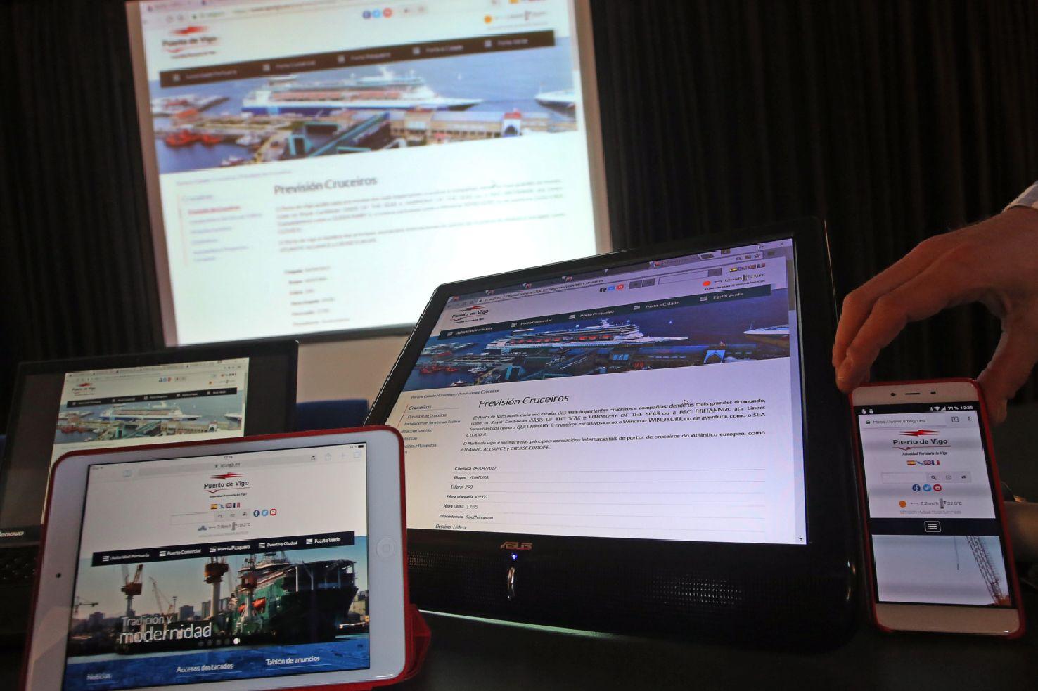 Autoridad Portuaria de Vigo, puerto, digitalización, tecnología, exportación.