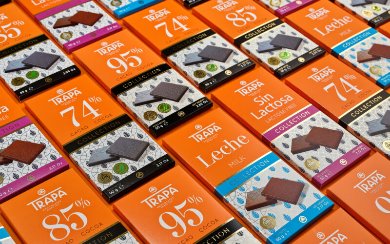 Chocolates Trapa, agroalimentación, exportación, chocolate.
