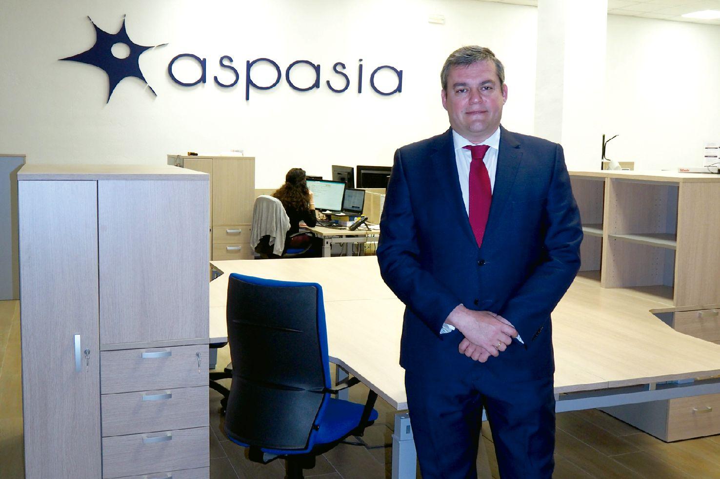 Lorenzo Alonso Nistal, director general del Grupo Aspasia, formación, trabajo.