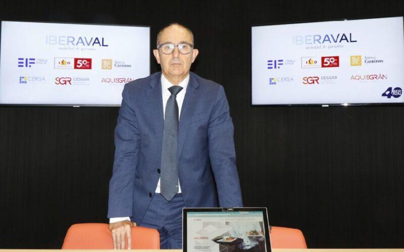 Pedro Pisonero, director general de Iberaval, SGR, financiación, crédito.