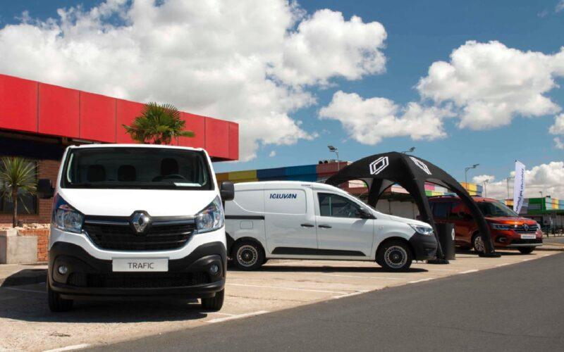 Renault, Kangoo, Express, Trafic Combi, vehículos comerciales, profesionales.
