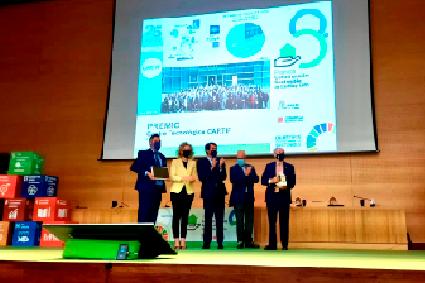 Centro tecnológico Innovación Cartif Junta Premios sostenible I+D+i empresas