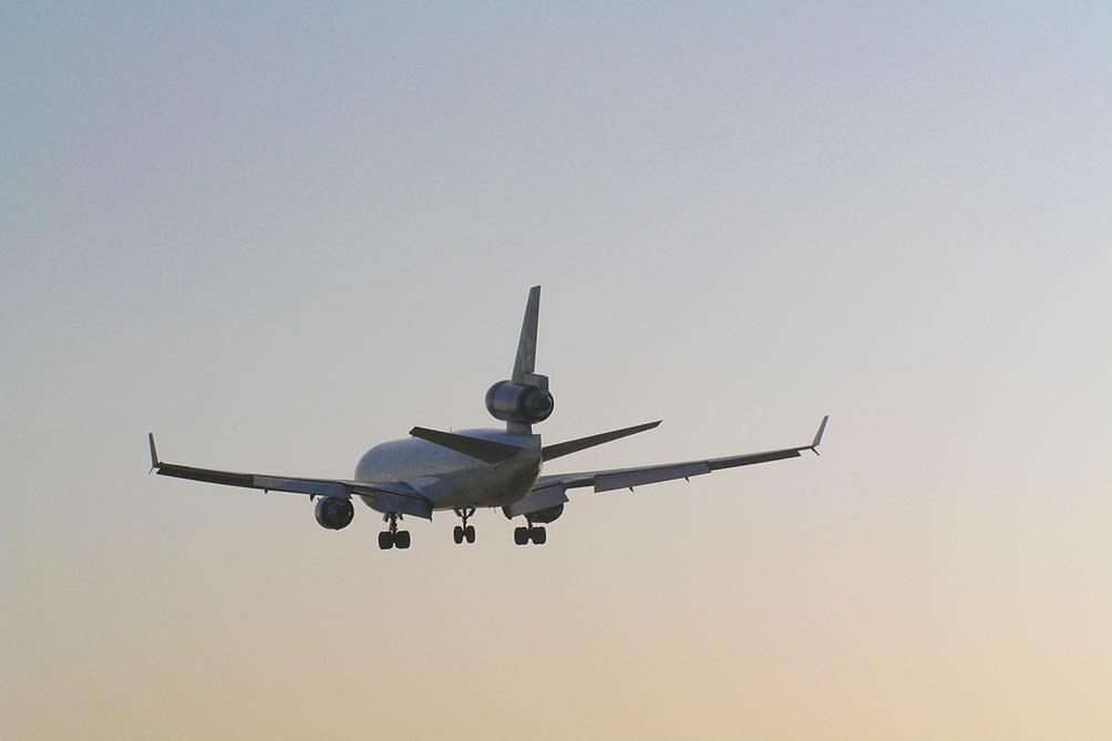 Imagen de un avión sector aeroespacial y aeronáutico empresas Castilla y León