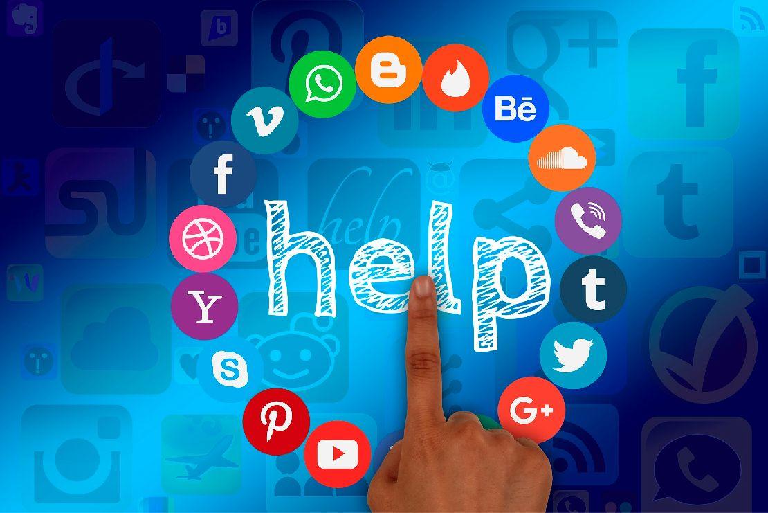 gracias a las redes sociales las empresas pueden comunicarse de forma directa e inmediata con sus clientes.