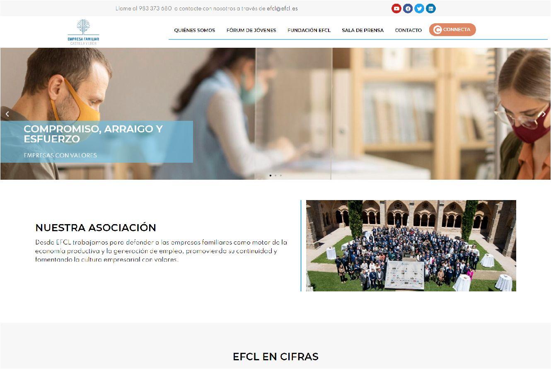 nueva web de efcl.
