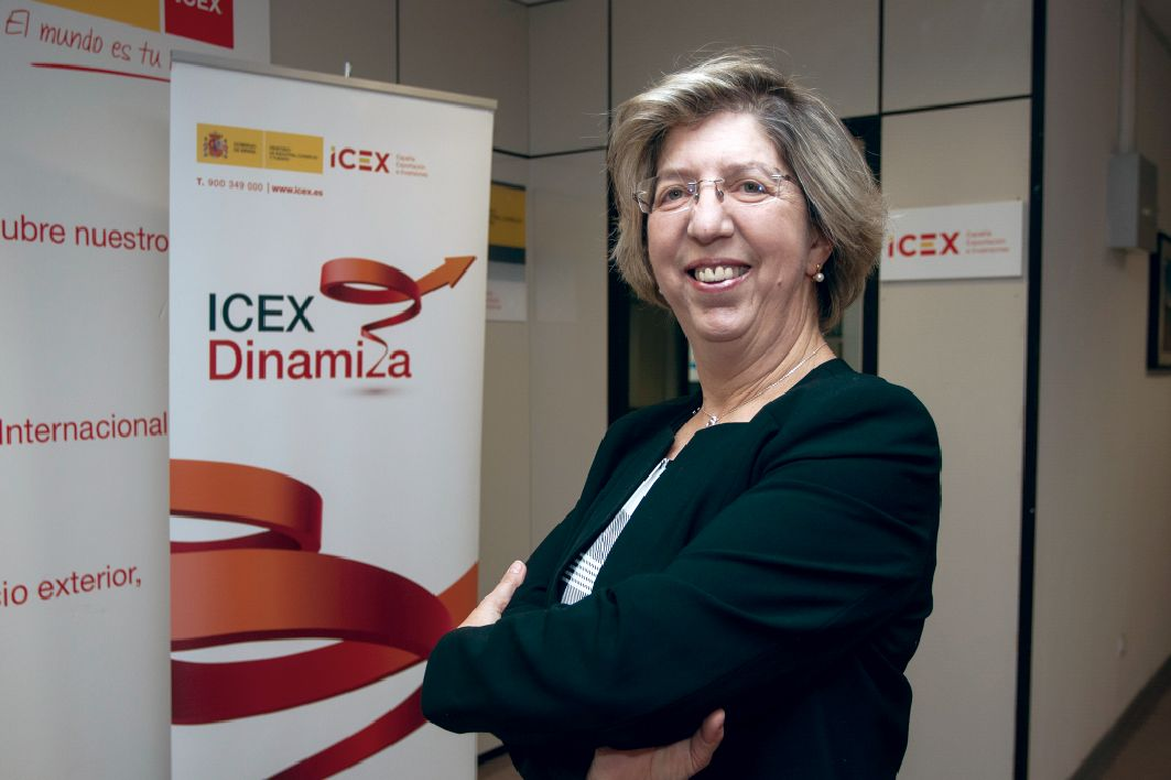 isabel clavero, directora regional del icex en vastilla y león.
