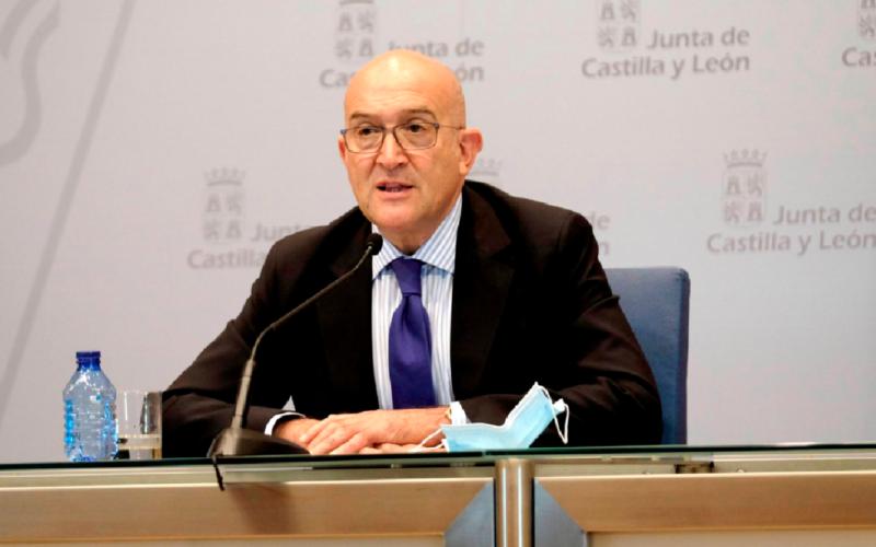 Jesús Julio Carnero, consejero de Agricultura