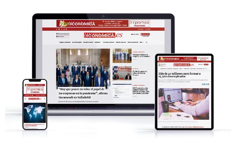 La nueva web un diseño más moderno y accesible desde los dispositivos móviles