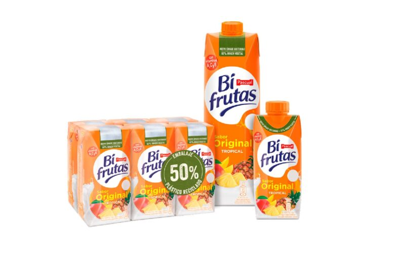 bodegon de productos bifrutas de pascual.