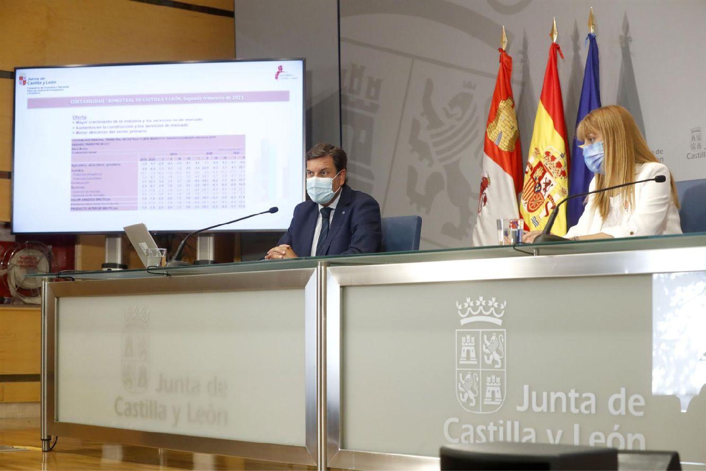 carlos fernández carriedo presenta los datos de contabilidad regional