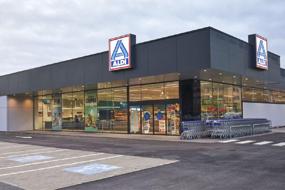 Nueva tienda de Aldi en Valladolid.
