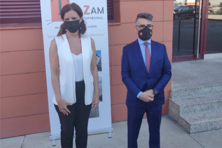 Carlota Amigo e Iván Gómez