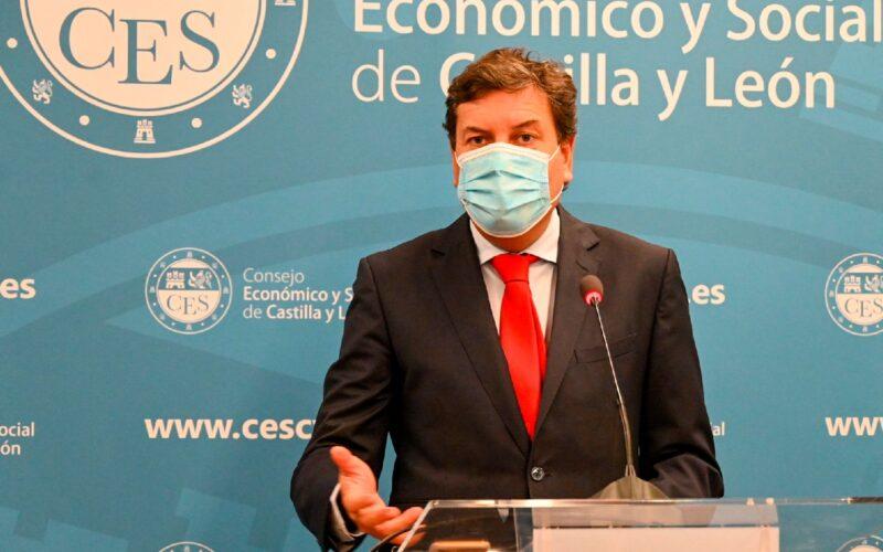 Carlos Fernández Carriedo, c onsejero de Economía y Hacienda