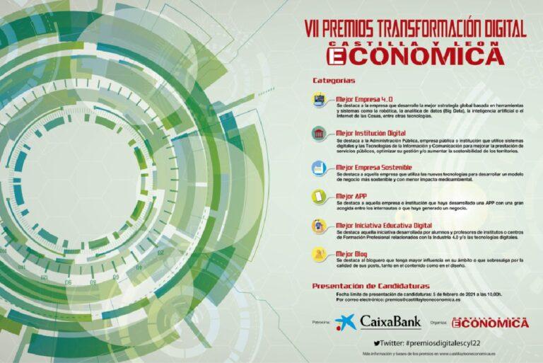Convocatoria de los VII Preios Transformación Digital.