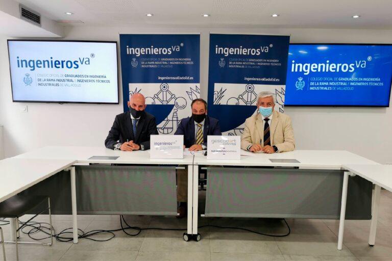 Foto de los firmantes del acuerdo